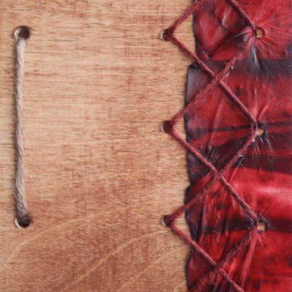 punainen shamaanirumpu
